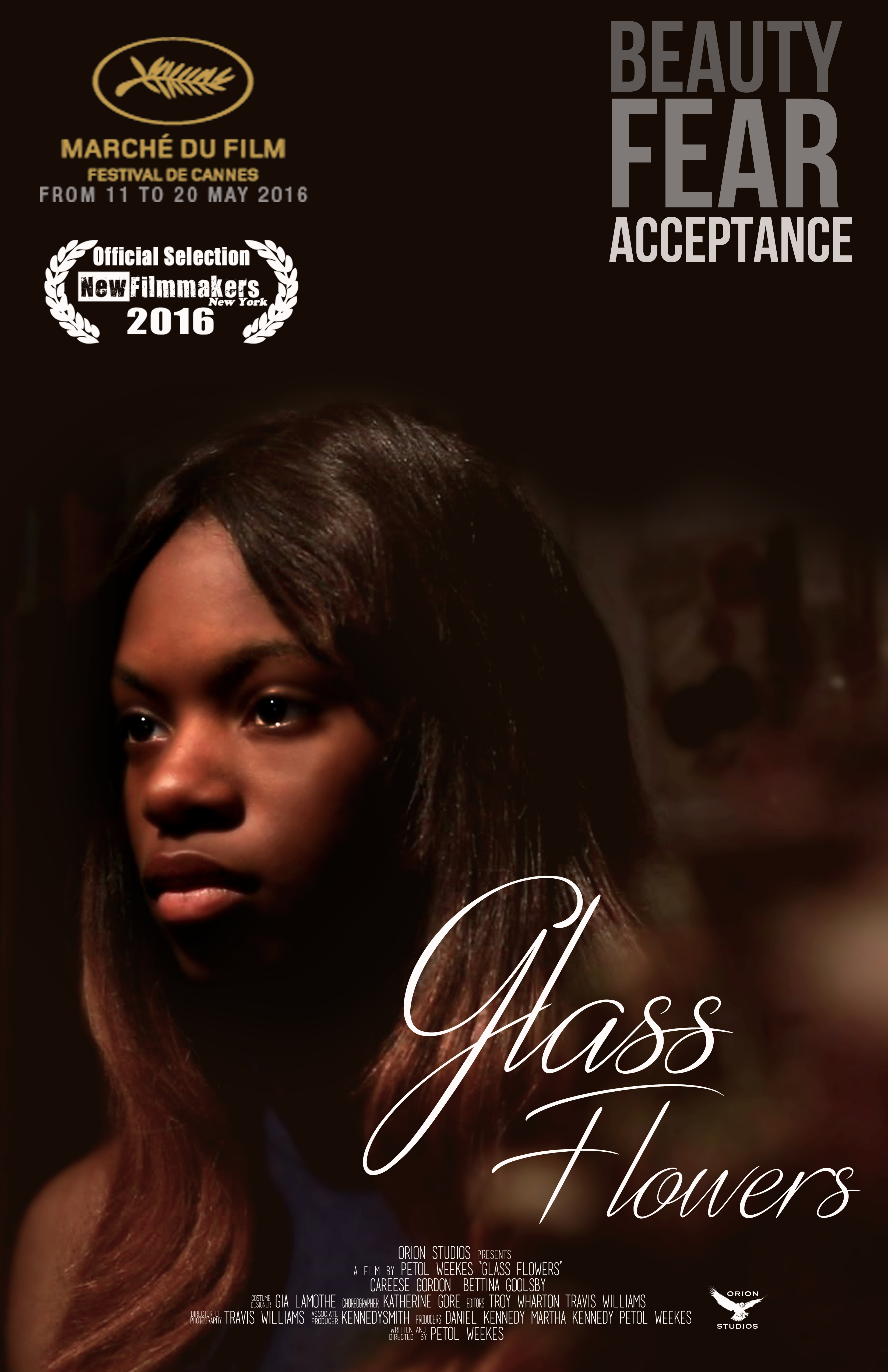 Glass Flowers  Poster