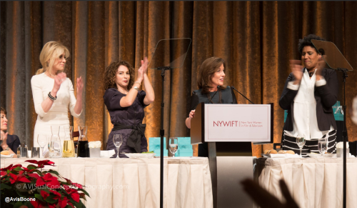 Lieutenant Governor Kathy Hochul Speaks at New York Women in Film & Television's Muse Awards (Tumblr)